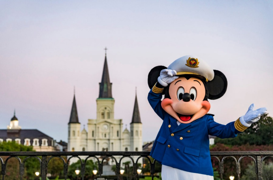 NEW ORLEANS LOUISIANA DISNEY CRUISES