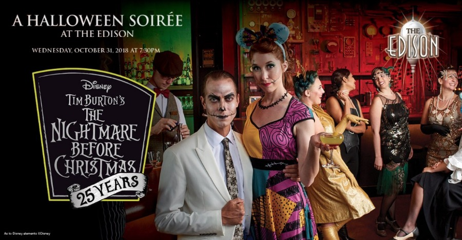 Tickets On Sale Now for Nightmare Before Christmas Halloween Soiree at The Edison
