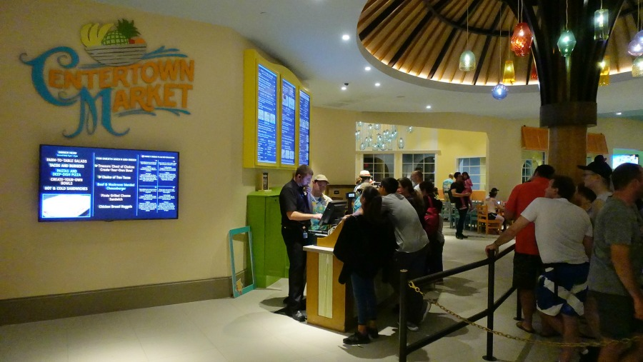 Centertown Market Is Now Home To The Caribbean Beach Resort S Food Court Which Open From 6 A M Until Midnight Every Day Serving Breakfast Lunch
