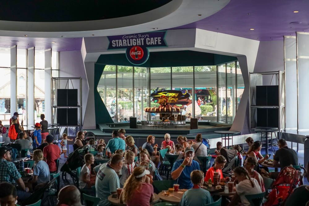 Tomorrowland Shopping And Restaurants Magic Kingdom