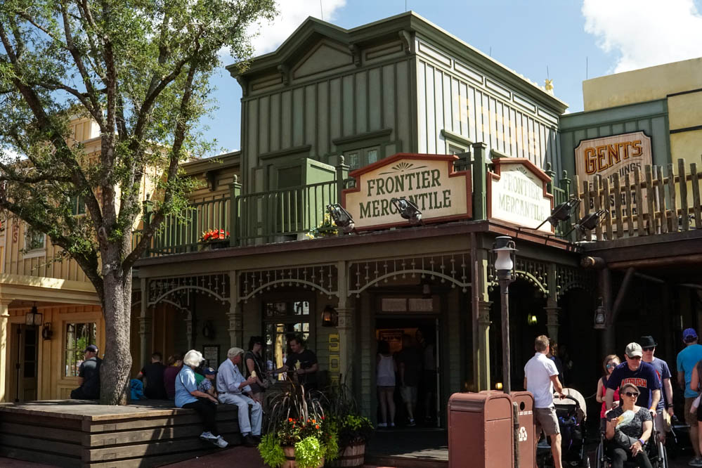Frontierland Shopping and Restaurants - Magic Kingdom Walt Disney World