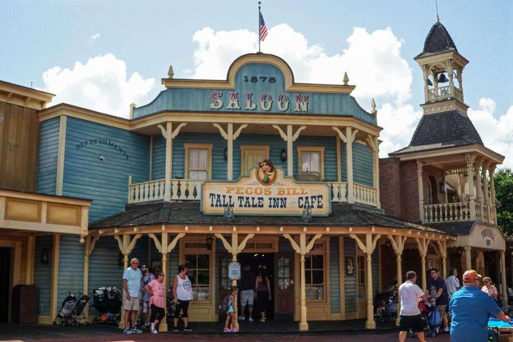 Frontierland Shopping and Restaurants - Magic Kingdom Walt ...