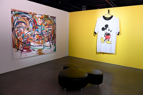 NEW YORK, NY - NOVEMBER 05: Art by Michael John Kelly and Amanda Ross-Ho. Mickey: The True Original Exhibition celebrates 90 years of Mickey Mouse's influence on art and pop culture. Opening November 8, 2018 through February 10, 2019, this immersive experience is inspired by Mickey's status as a 'true original' and his consistent impact on the arts and creativity in all its forms. Guests will have the chance to explore the 16,000 square-foot exhibition featuring both historic and contemporary work from renowned artists. The exclusive pop-up retail shop carries special merchandise and offers customization. (Photo by Craig Barritt/Getty Images for Disney)