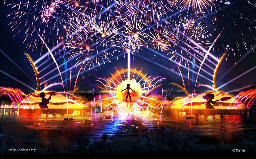 Epcot Forver Nighttime Spectacular at Epcot