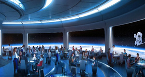 New Details Revealed for Space Restaurant Coming to Epcot