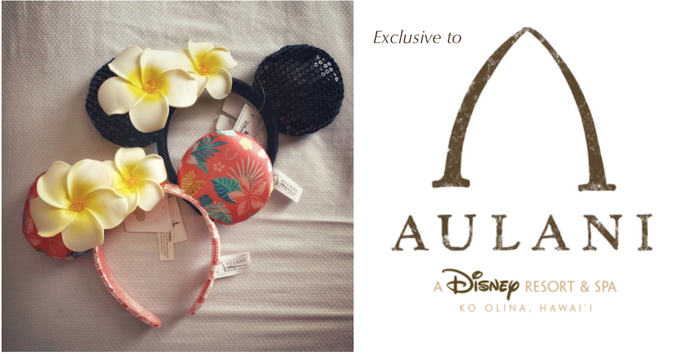 Aulani Exclusive Minnie Ears