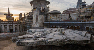 Disney Shares Look at Completed Millennium Falcon in Star Wars: Galaxy's Edge