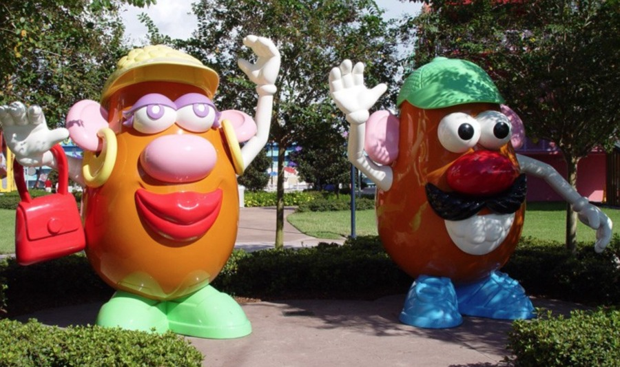 Mr. and Mrs. Potato Head Toy Story