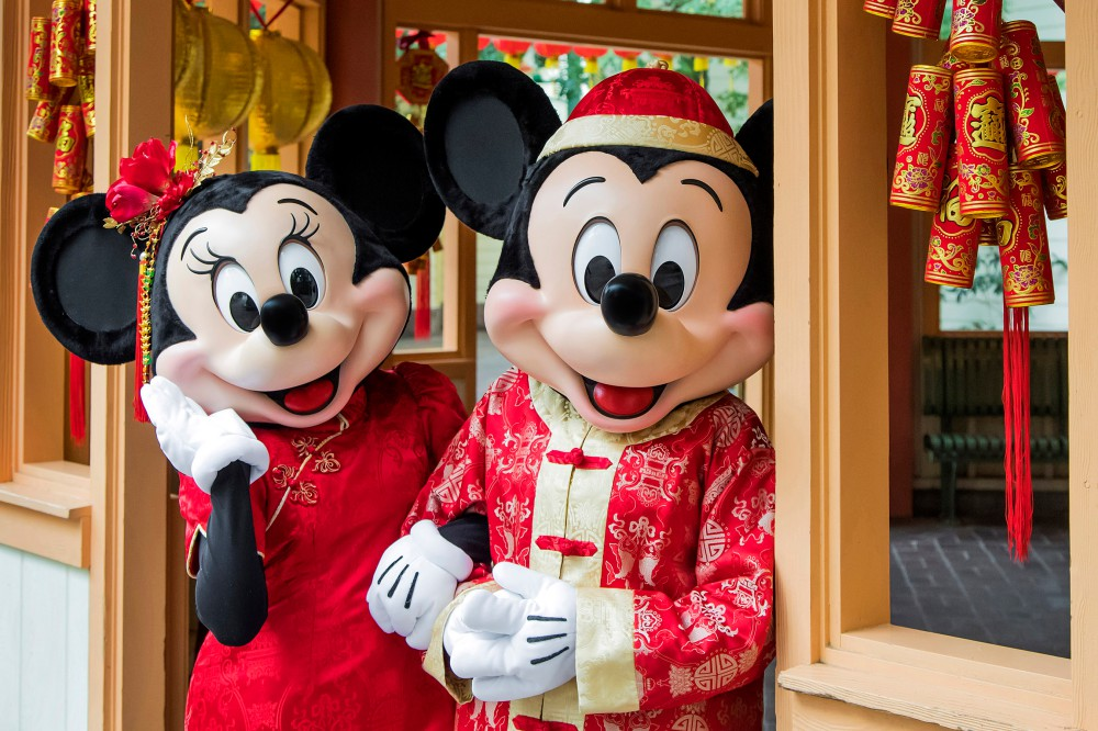 Lunar New Year at Disney California Adventure Park