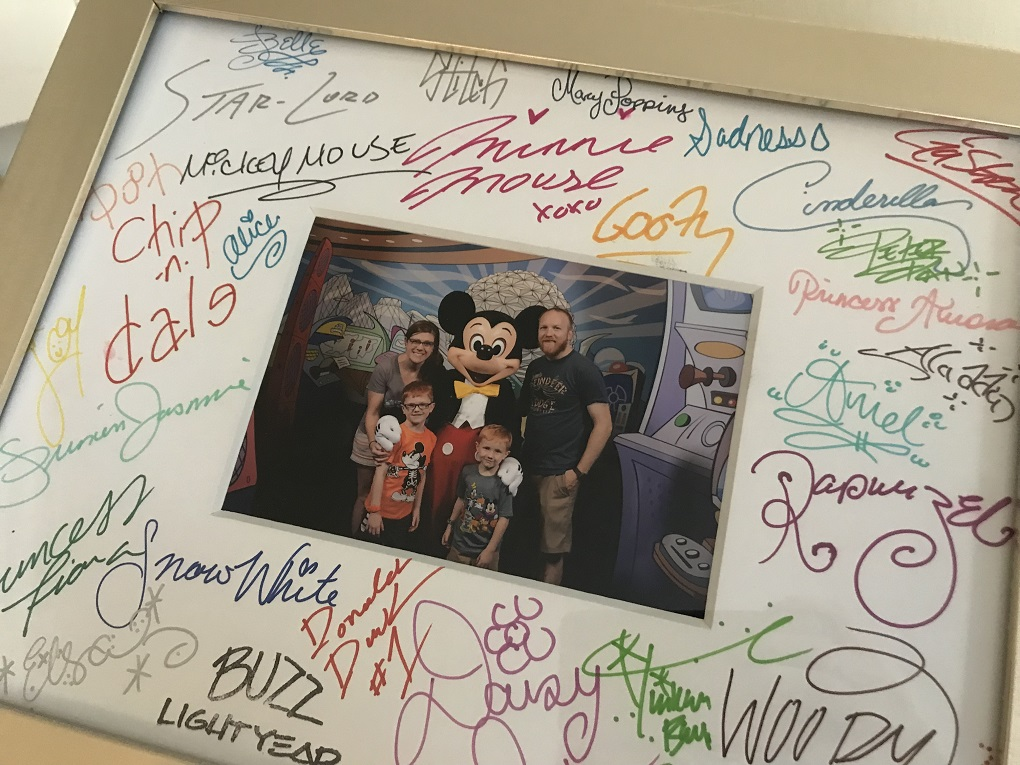 Signature Photo Mat