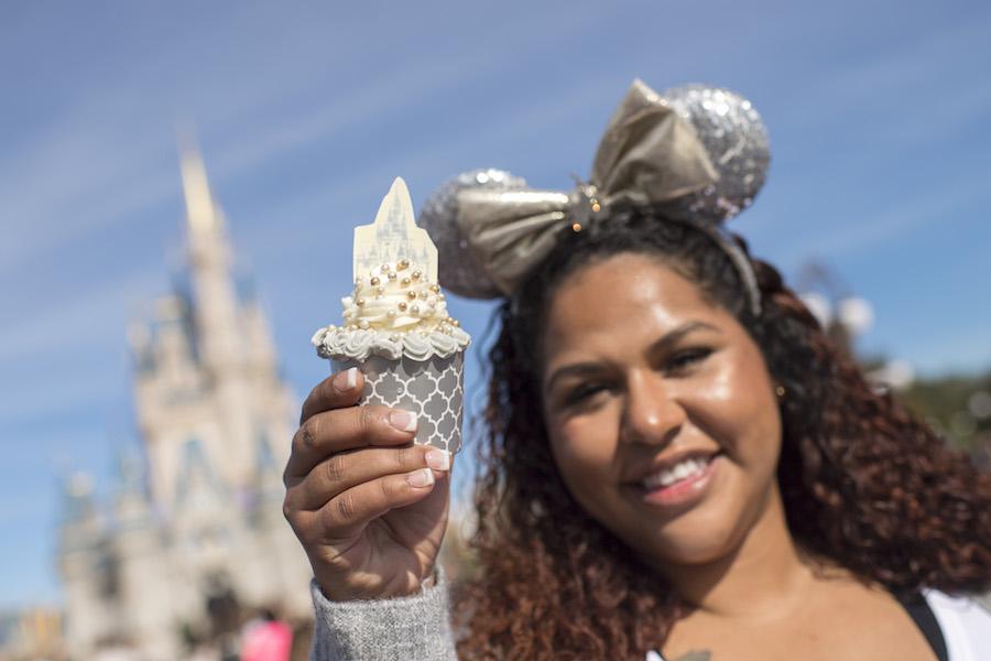 cinderella-castle-cupcake
