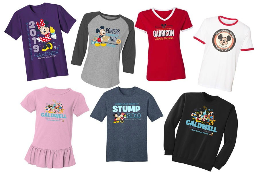 b11dcddc51cd4 shopDisney Introduces Customizable Disney Parks T-Shirts and Gear