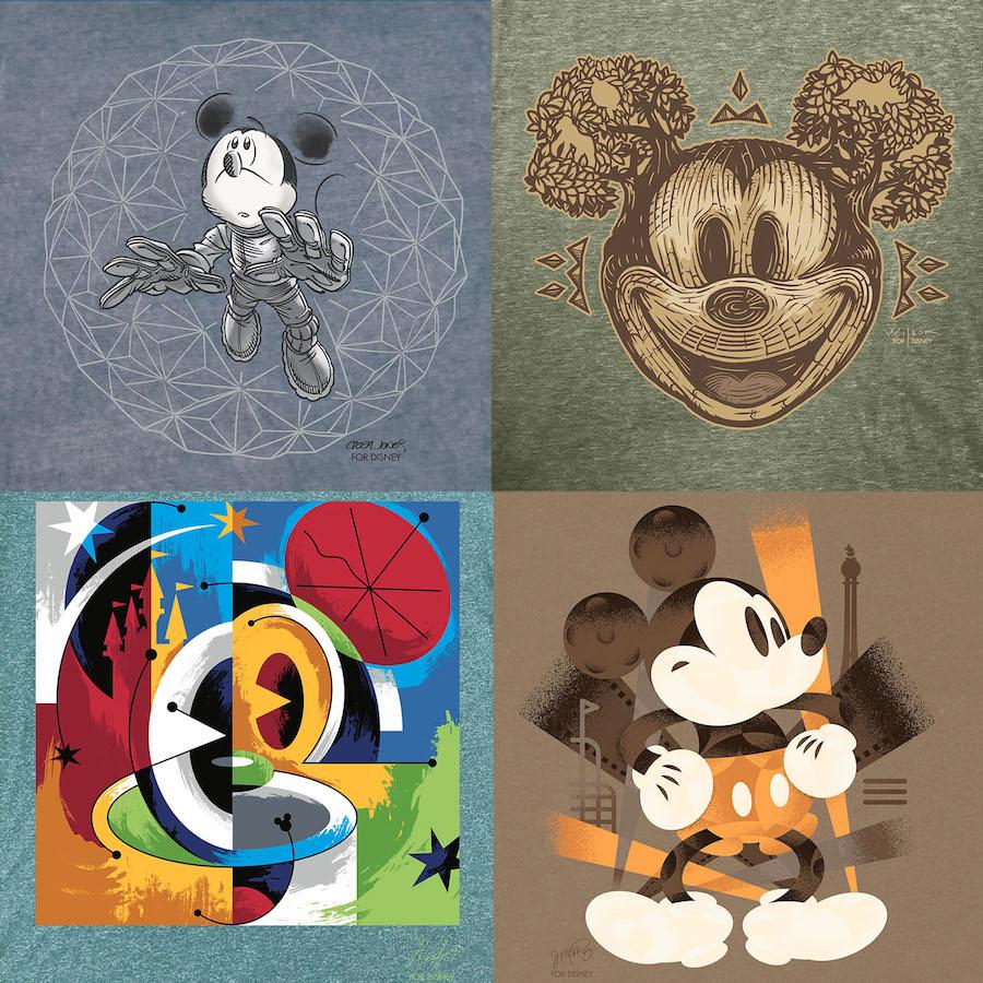 disney-parks-artist-series-collage