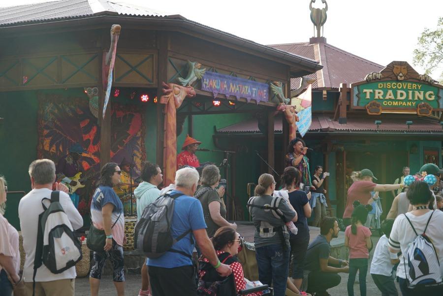 Hakuna Matata Time Dance Party Animal Kingdom