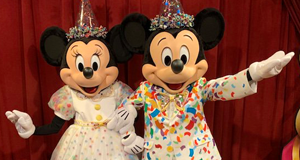New Mickey and Minnie Meet and Greet at the Town Square Theater
