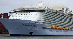 16-Year Old Passenger Dies On Royal Caribbean's Harmony of the Seas in Tragic Fall