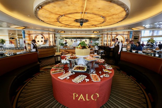 Enjoy brunch at Palo on any of the Disney Cruise Line ships. Photo Credit: the DIS