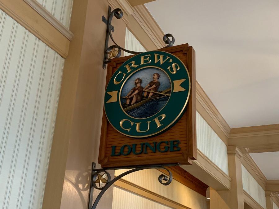 Crew's Cup Lounge Menu - Yacht Club Resort