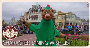 Character Dining Experiences We Wish Walt Disney World Offered