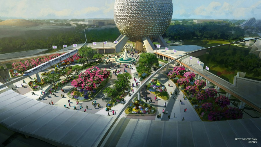 new-epcot-entrance