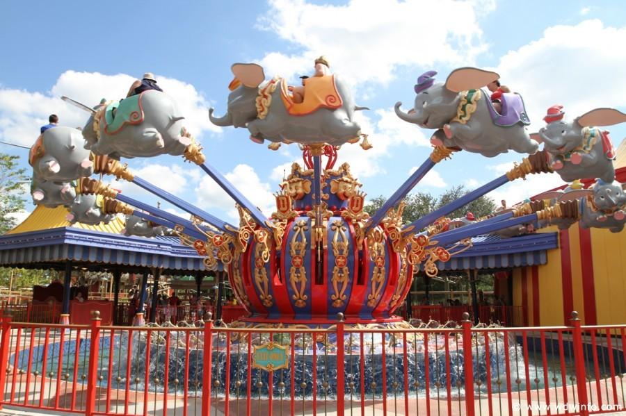 Dumbo, Fantasyland