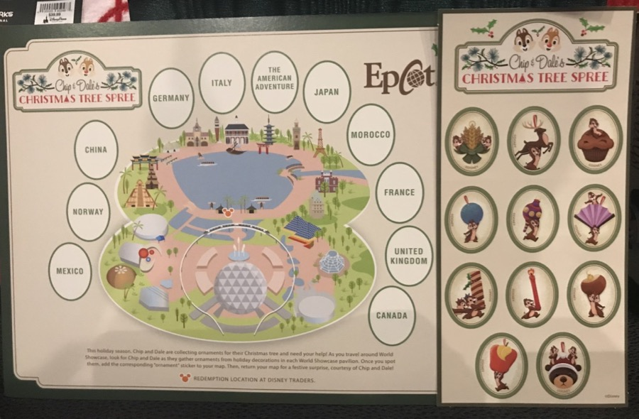 Seasonal and Holiday scavenger hunts make Epcot fun for kids. Photo: The Dis