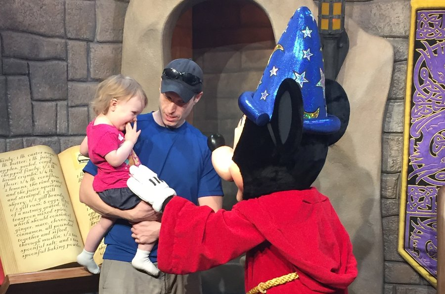 The magic of meeting Mickey Mouse