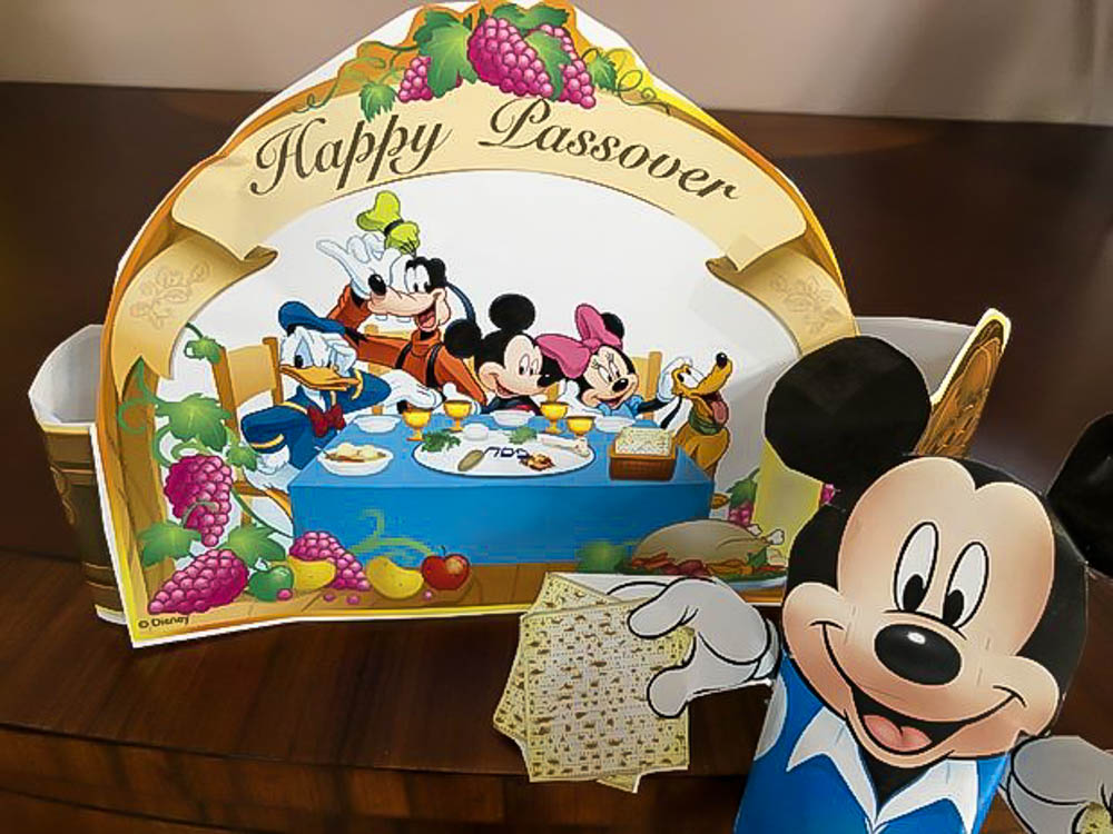 Bringing Disney into Your Passover Holiday Home