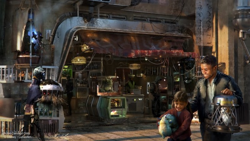 Image result for galaxy's edge concept art