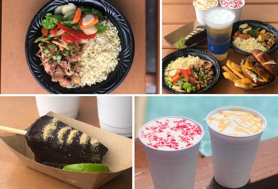 disney-water-park-food-collage