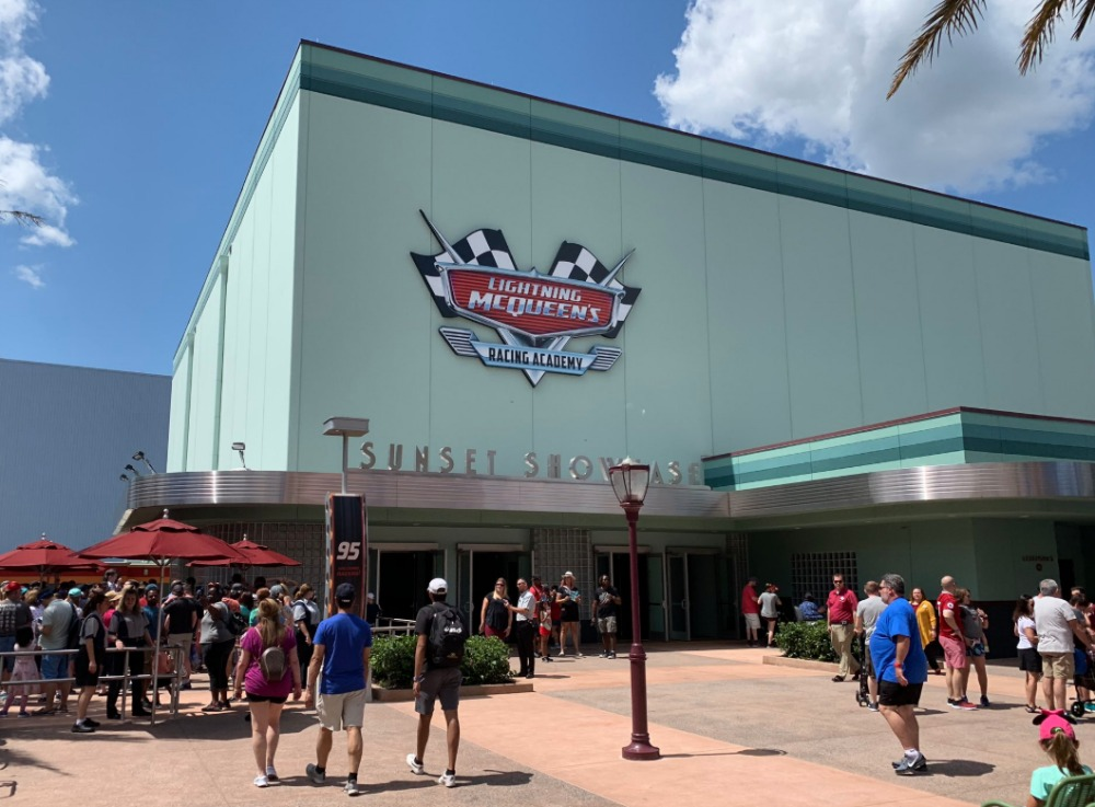 Lightning Mcqueen S Racing Academy Disney S Hollywood Studios