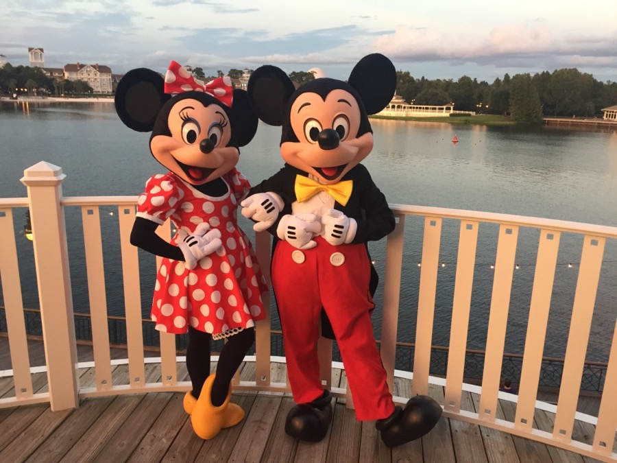 Mickey and Minnie, Walt Disney World