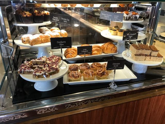 Pastries and Desserts available at Cove Cafe.