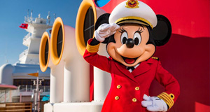 Captain Minnie Mouse to Debut on Disney Cruise Line Ships Later this Month