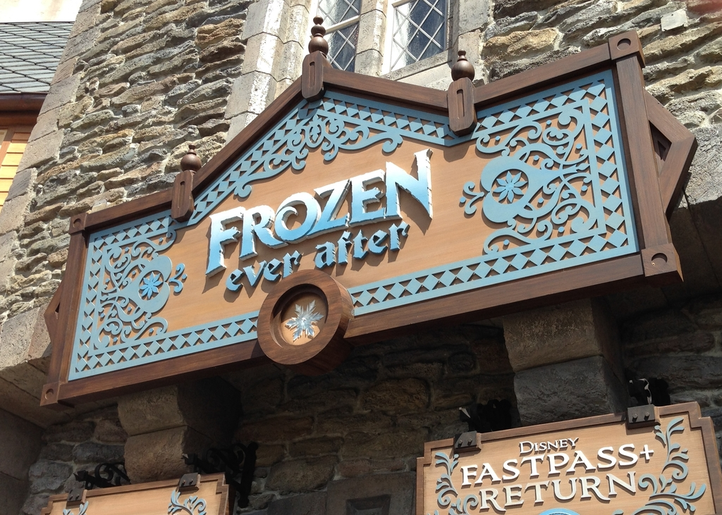 Frozen Ever After Sign Resized