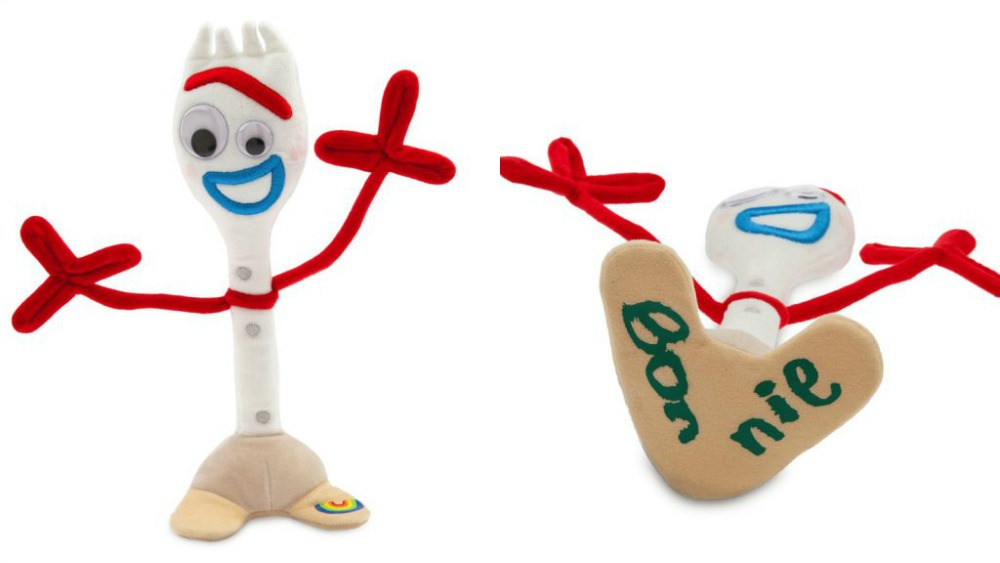 new �forky� character merchandise from �toy story 4� hits