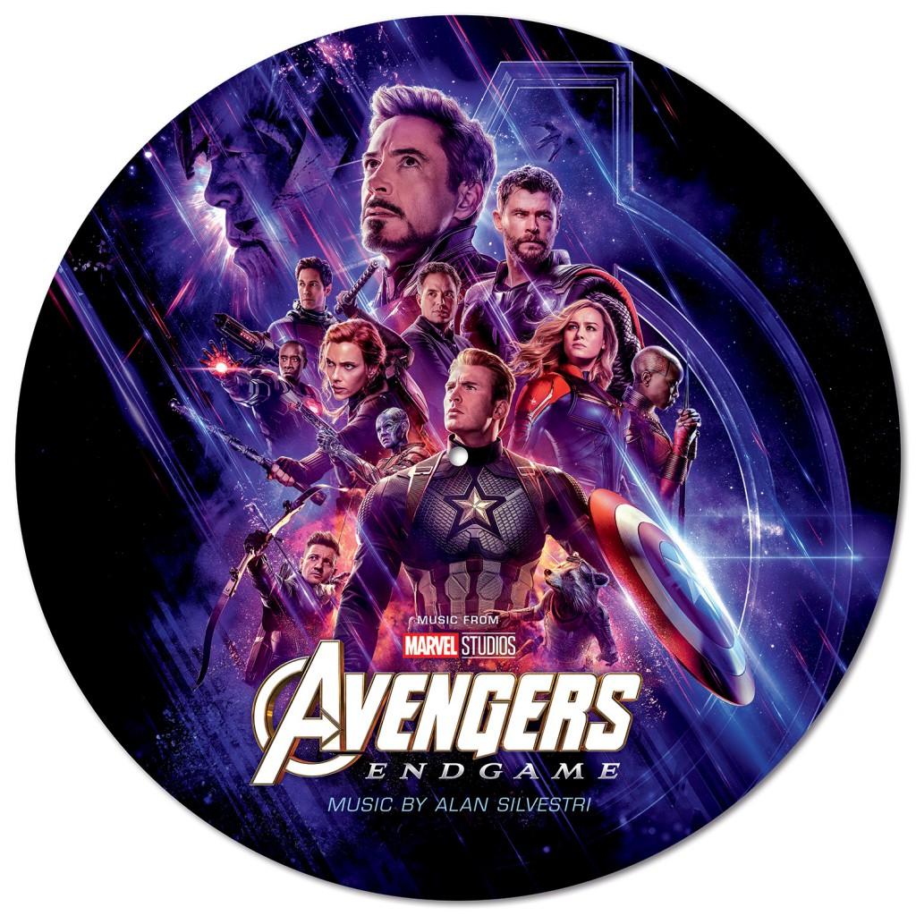 D23Expo2019-Music-AvengersEndgame_PicDisc_A_Side