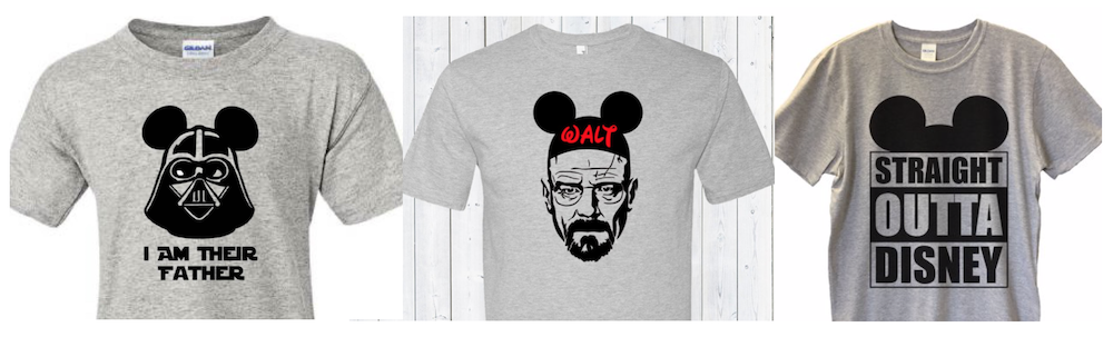 Dad Shirts of Disney