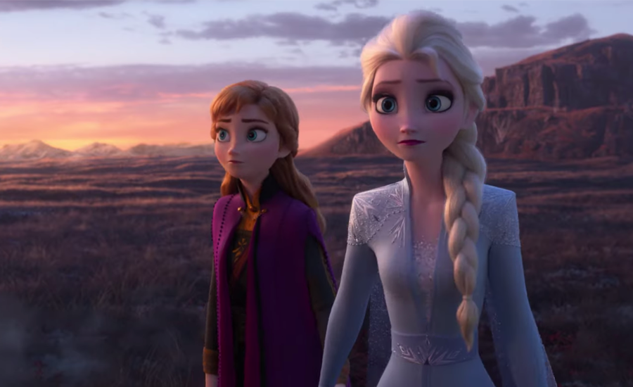 A new poster for 'Frozen 2' hints at a mysterious adventure for Anna and Elsa