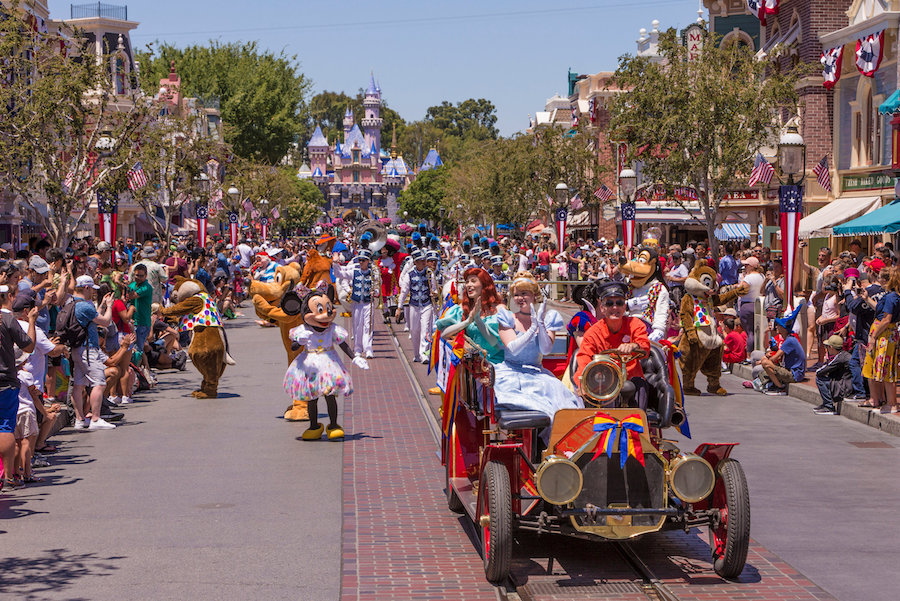 """Mickey and Friends Band-Tastic Cavalcade"" Begins Limited Time Fun at Disneyland Park"