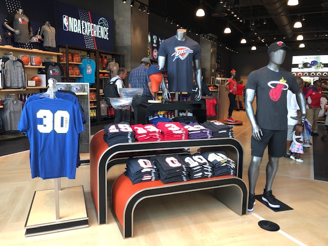 san francisco f5cee c4d30 The NBA Experience Store Opens at Disney Springs' West Side