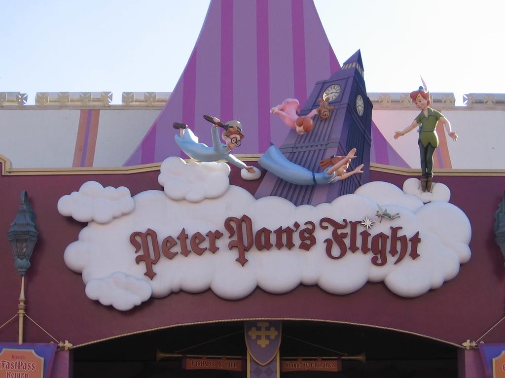 Peter Pan's Flight Resized