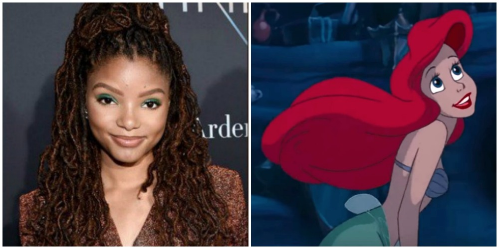 halle-bailey-mermaid-collage