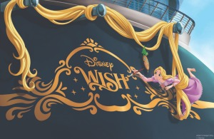 The Fifth Disney Cruise Line Ship is Named the Disney Wish