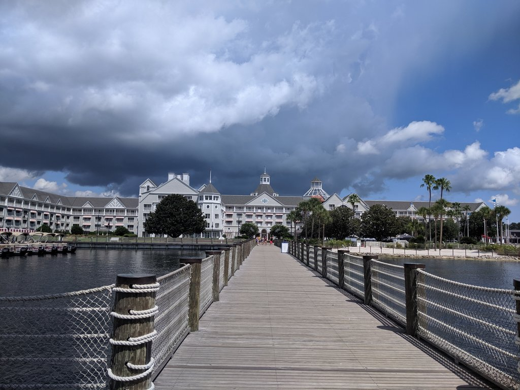 Disney's Yacht Club resort is a great choice for families. Photo: Lisa Rufle
