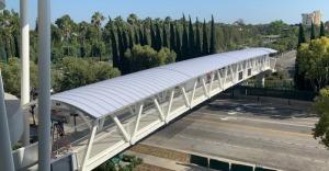 New Disneyland Resort Pedestrian Bridge from Parking Structures Now Open