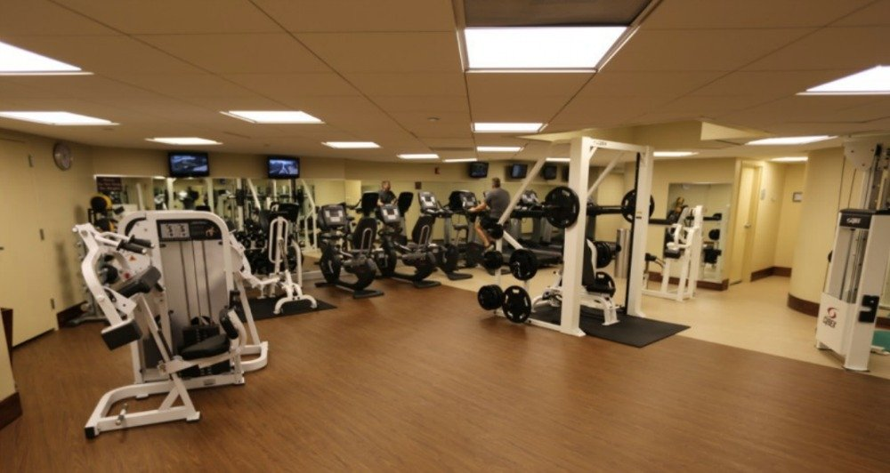 Bay Lake Tower fitness center