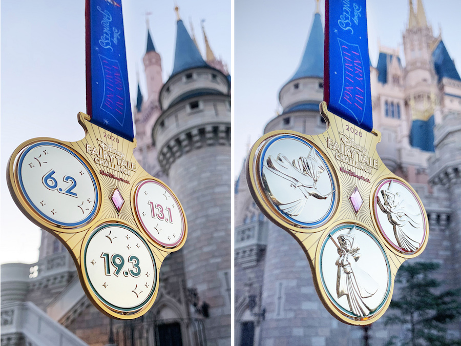 run-disney-princess-fairy-tale-challenge-2020-medal