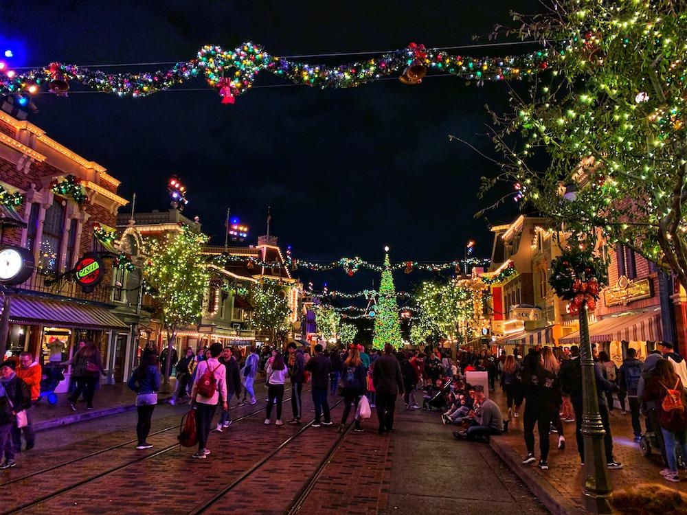 Disneyland Main Street Christmas