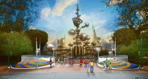 Disneyland Park Previews New Look for Tomorrowland Entrance